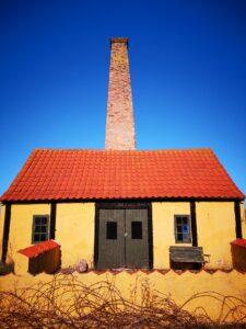 Der findes mange røgerier på Bornholm. De er smukke at se på, og indholdet derfra smager fantastisk!