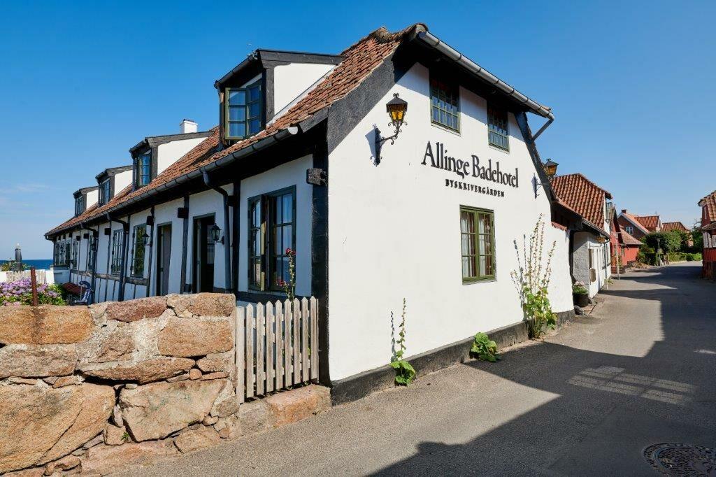 Hyggeligt hotel i Allinge-Sandvig.