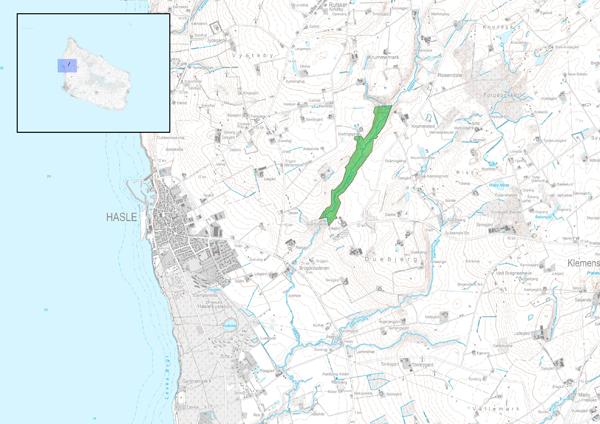 Kort over Svartingedalen